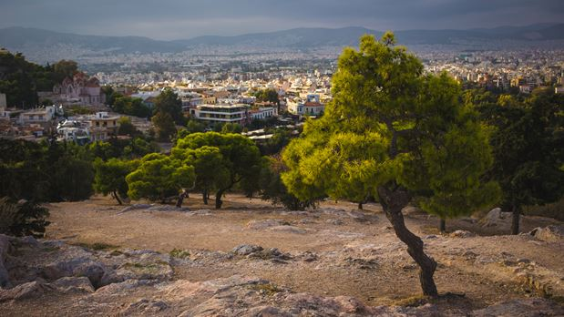 Athens from above: to Lycabettus with the cable car