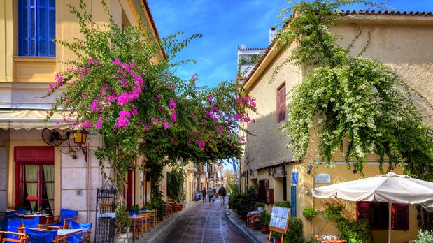 At the alleys of Plaka