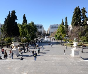 Walk around Syntagma square