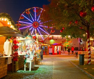 Christmas Village, City of Athens - Technopolis