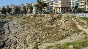 Ancient walls of Piraeus