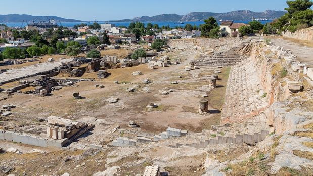 Eleusis Archaeological Site