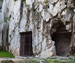 The prison of Socrates (Philopappos Hill)