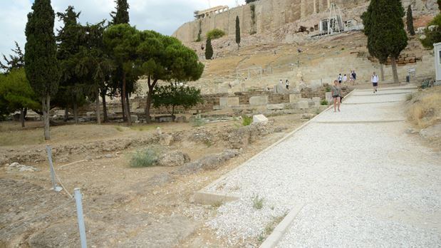 The Slopes of the Acropolis