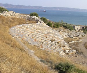 Antikes Theater von Thorikos