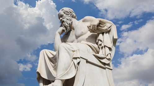 Socrates, Leonidas Drosis (Adacemy of Athens)