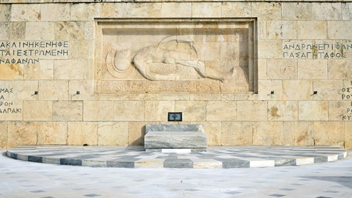 Monument of the Unknown Soldier, Emmanuel Lazaridis (Syntagma Square)