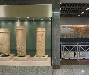 Syntagma Station (antiquities exhibition)