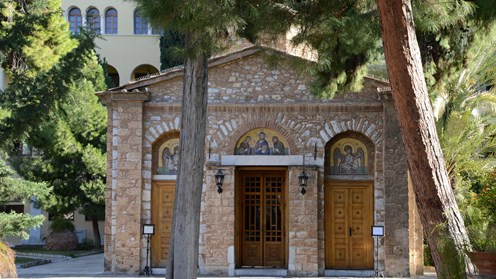 Catholicon of the Petraki Monastery