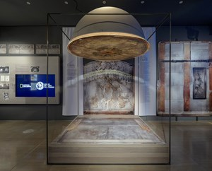 """Digital exhibition of advanced technology """"Tomb of Chris: The momentun and the project"""""""