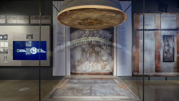 "Digital exhibition of advanced technology ""Tomb of Chris: The momentun and the project"""