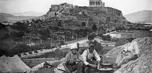 Athens 1917. Through the eyes of the Army of the Orient