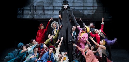 Killing game by Eugene Ionesco at National Theater of Greece