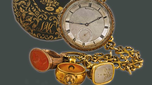 The Hour of Freedom. Watches of the Fighters of the Greek War of Independence