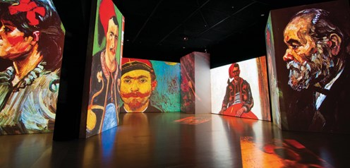 """The three-dimensional exhibition: """"Van Gogh Alive - The Experience"""" is coming to Athens"""