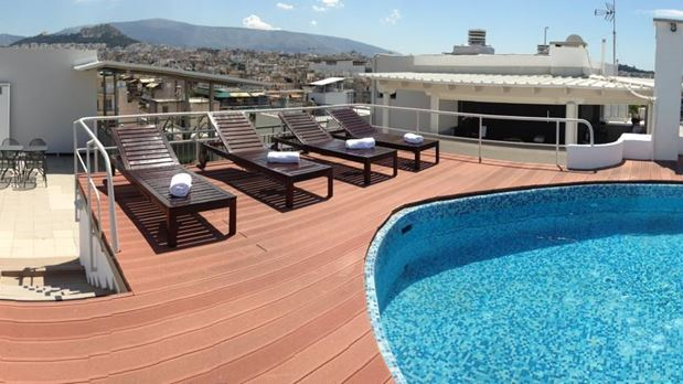 Roof Bar et Piscine